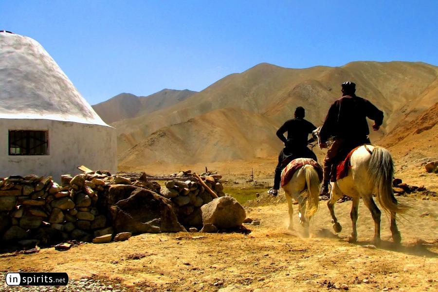 Horse Riding in the Pamir Mountains