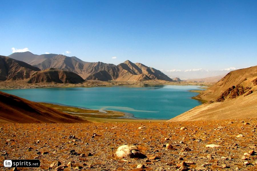 Karakul Lake in Xinjiang