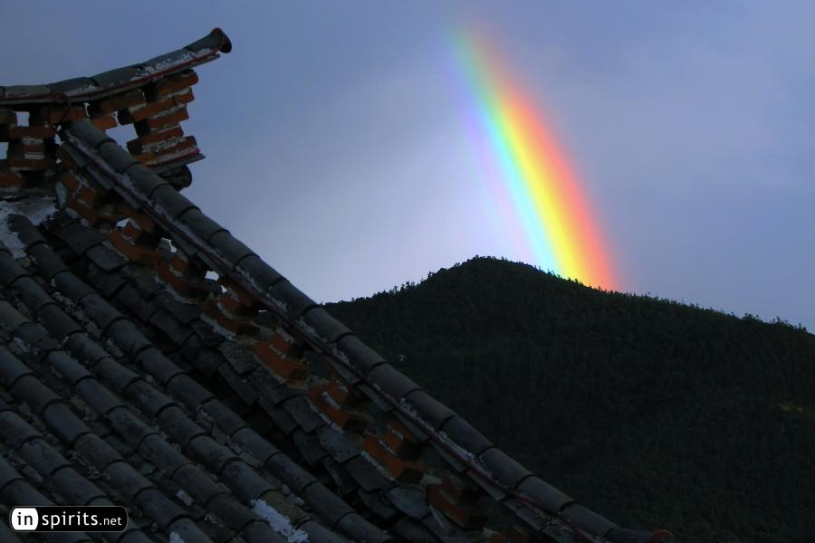 Rainbow in Shangri-La