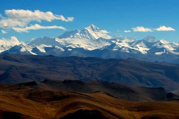 Himalaya Mountains and Mount Everest